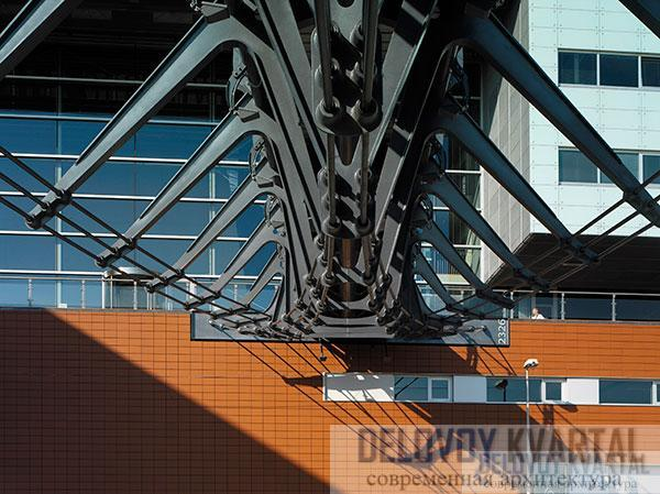 Хвост ласточки - пешеходный мост Zouthaven