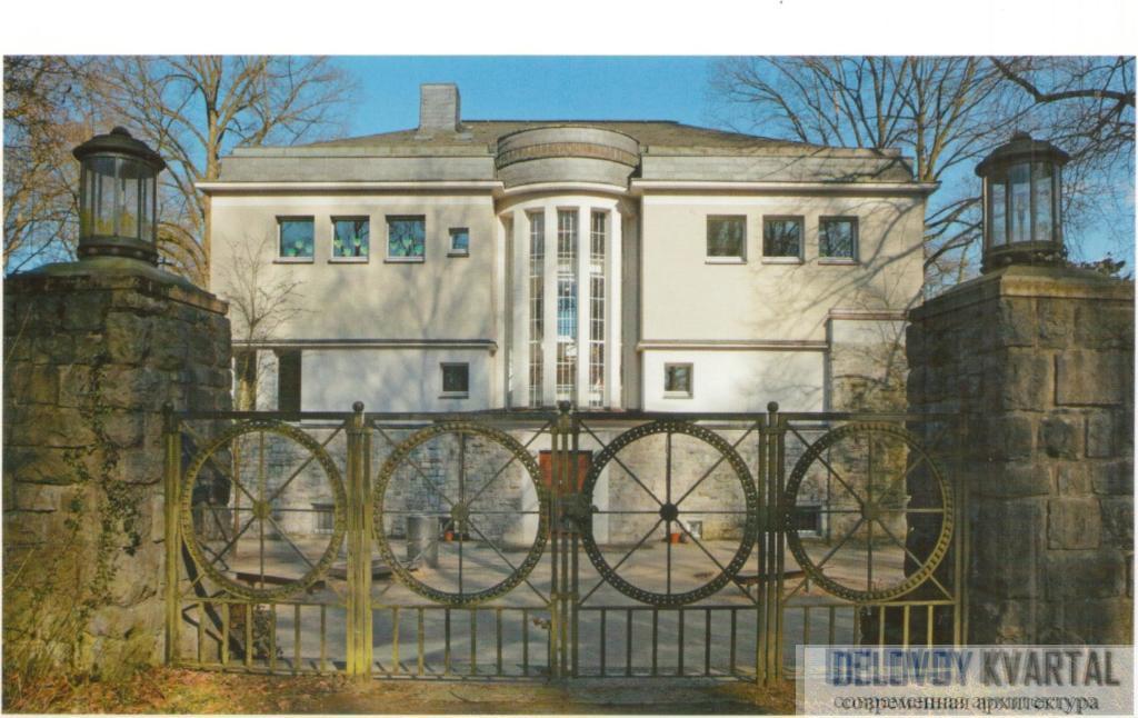 Жилой дом. Т. Цукеркандль. Йена, Германия