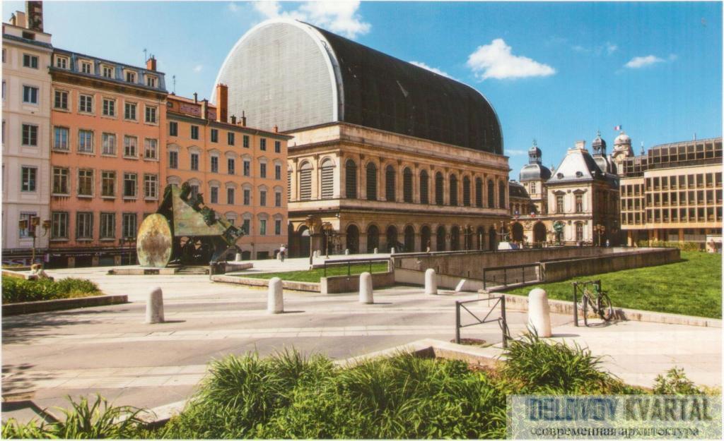 реконструкция Национального оперного театра в Лионе