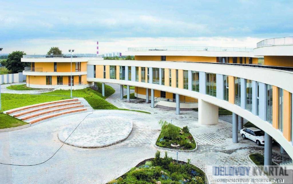 Школа-интернат в Кожухове, Москва. ДОН-Строй, Архитектурная мастерская «Атриум»