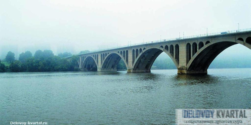 Мост Кей через реку Потомак