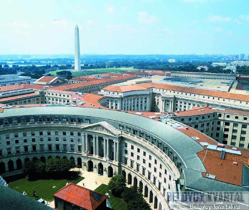Архитектура Вашингтона. Молл – огромная парадная эспланада, застроенная зданиями в классическом стиле