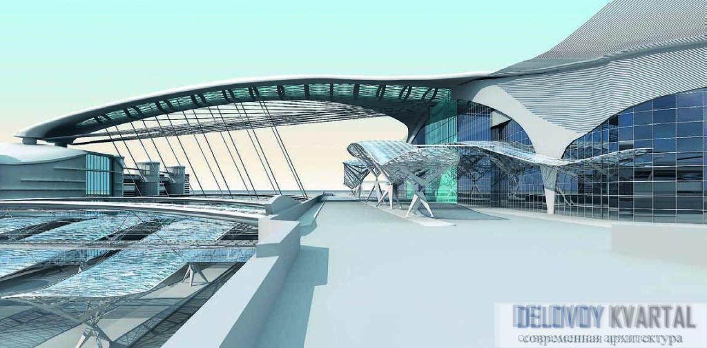 Терминал «Шереметьево-3». Арх. бюро «Дмитрий Пшеничников»