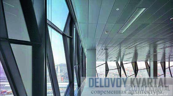 Интерьер офисного этажа