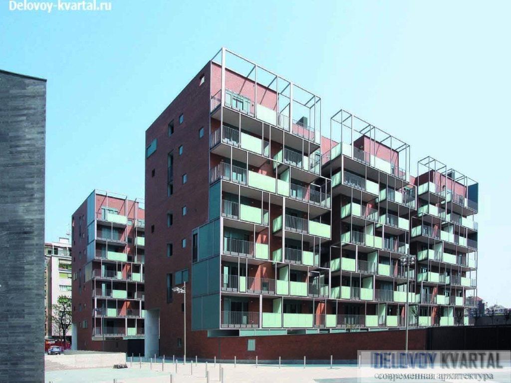 Квартал 2b-2c в районе Nuovo Portello, Милан