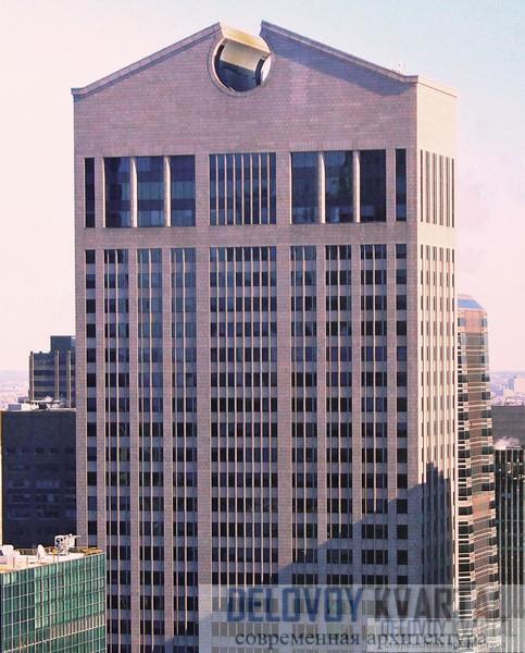 здание AT&T в Нью-Йорке Филип Джонсон