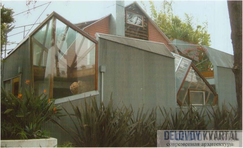 Дом Гери в Санта-Монике. Калифорния, США