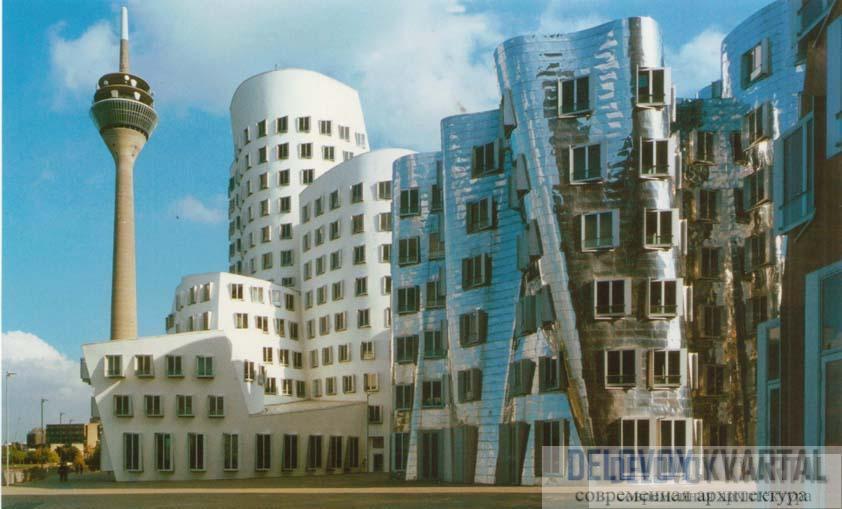 Многофункциональный комплекс «Новая таможня». Дюссельдорф, Германия