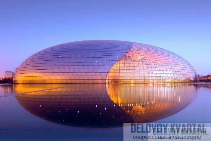 государственный оперный театр в пекине. Beijing National Grand Theater, The Egg, Tiananmen, Beijing, China