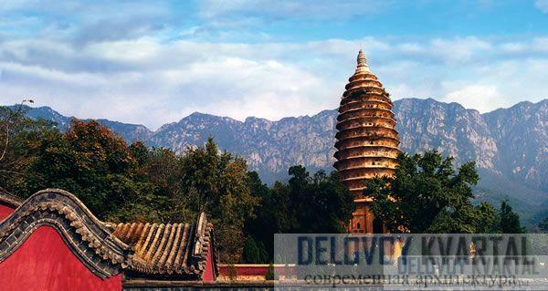 Пагода Сунъюэсы. Гора Суншань (523 г.)