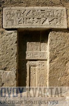 ложная дверь в гробнице