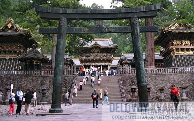 Храмовый комплекс в Йокохаме (XIX в.)