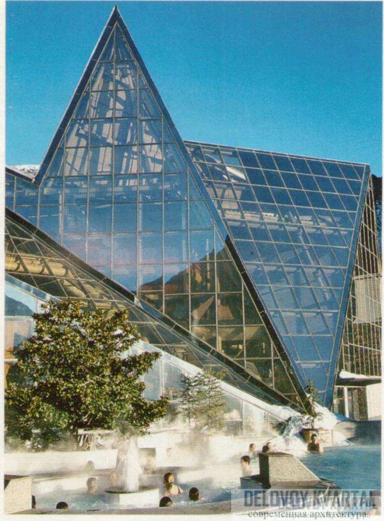 Термальный центр Caldea в Эскальдесе, Андорра