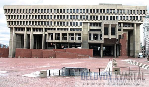 Здание городской мэрии в Бостоне (Массачусетс, США). 1981 г.