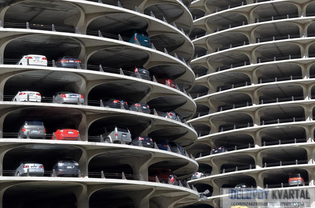 Парковка Марина-сити, Чикаго, США