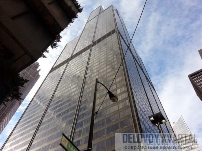 "Уиллис-тауэр (Willis Tower, ""Сирс тауэр"" до 2009 г.), Чикаго, США"
