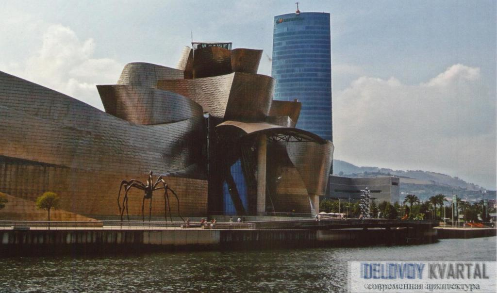 Музей Соломона Гуггенхайма в Бильбао