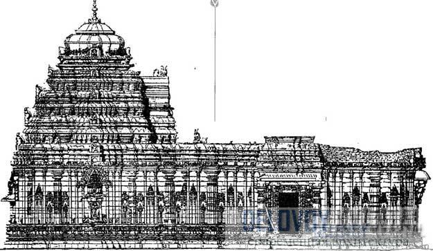 Башни чалукийских храмов