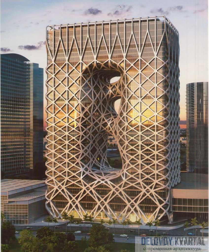 Башня отеля «Город мечты». Проект. Котаи, Макао