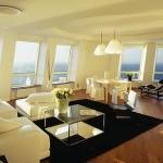 Дизайн квартиры в небоскребе Turning Torso