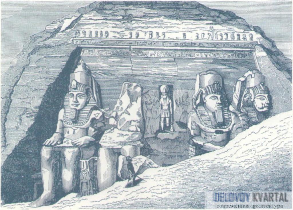 Храм в Абу-Симбеле. Нубия