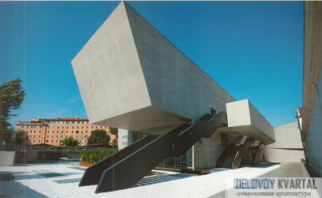 Крыша музея. Фрагмент