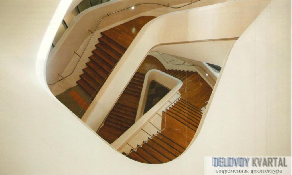 Лестницы, ведущие в музей дизайна