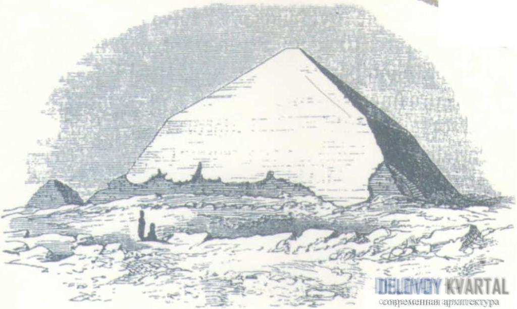 Пирамида Снофру в Дашуре