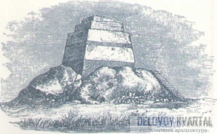 Пирамида Снофру в Мейдуме