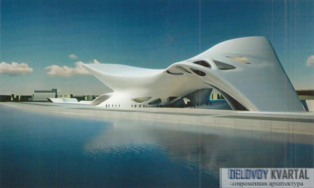 Средиземноморский музей культуры нураге и современного искусства. Проект. Кальяри, Италия