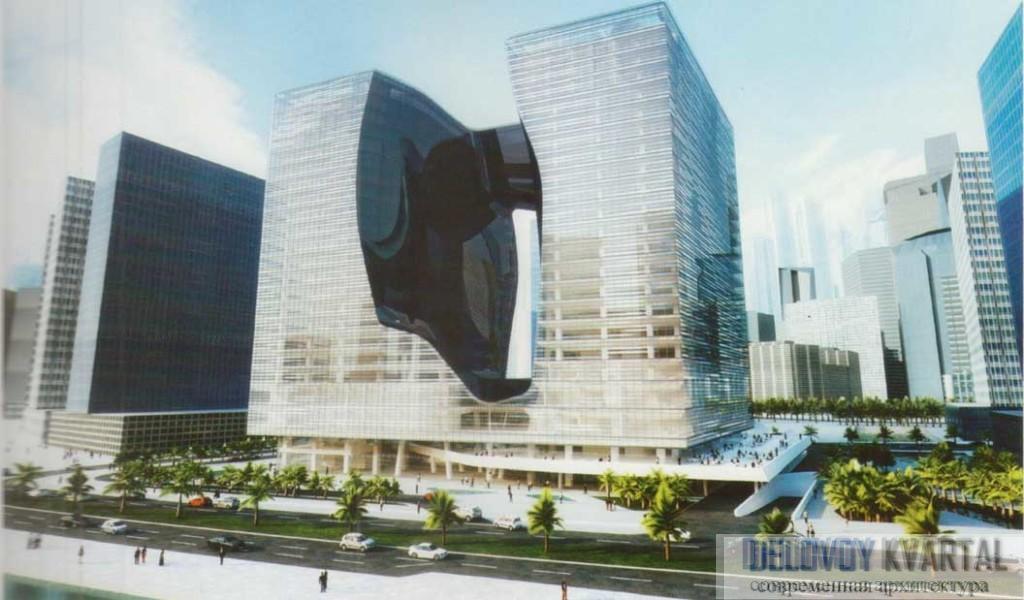 Центр-Опус. Проект. Дубай, Объединенные Арабские Эмираты