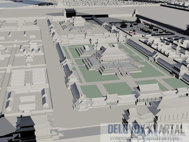 Город Даду, столица династии Юань