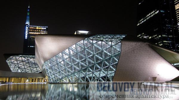 Оперный театр в Гуанчжоу