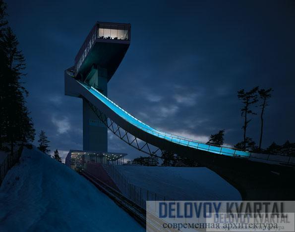горнолыжный трамплин в Инсбруке