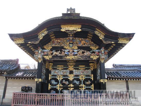 Ворота монастыря Ниси Хонгандзи