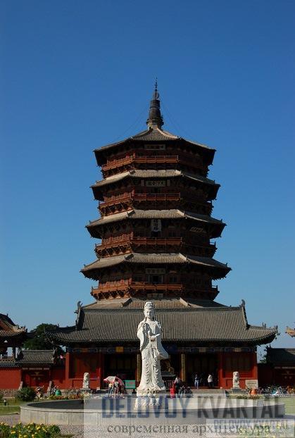 пагоды Шицзята храма Фогунсы