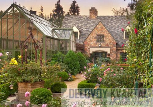 Пейзажный стиль архитектура