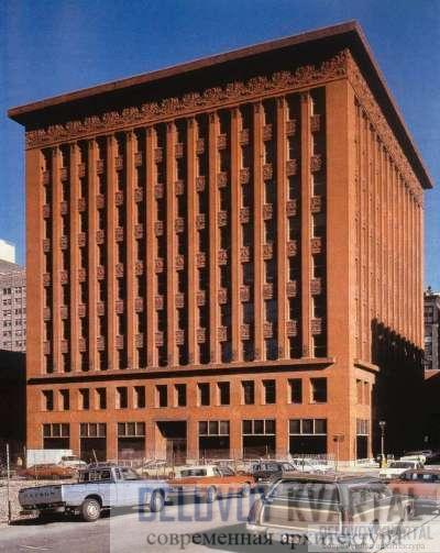 здание компании «Уэйнрайт» в Сент-Луисе