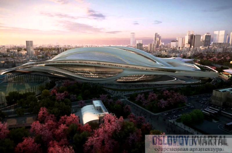 Национальный стадион, Токио, Япония