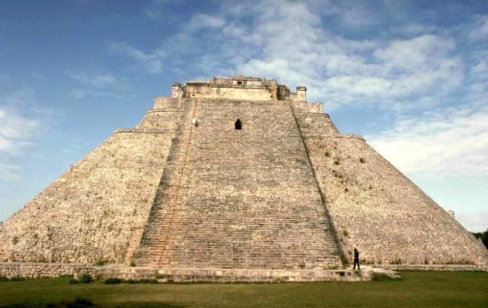 Пирамида Магии (Ушмаль, Мексика)