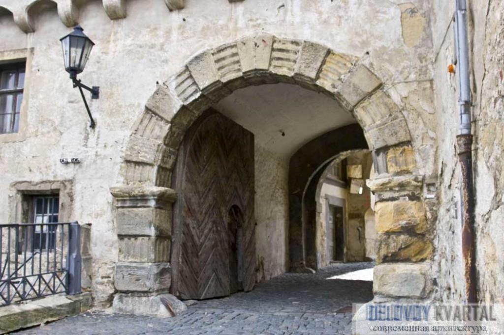 Защищенный вход