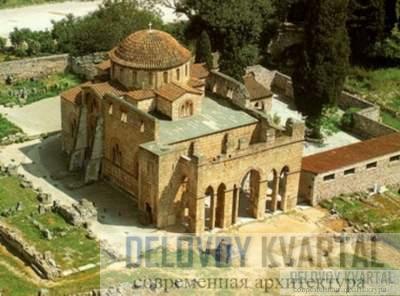 Церковь Успения Богоматери монастыря в Дафни близ Афин