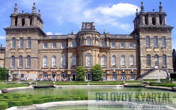 Дворец Бленхейм. Оксфорд