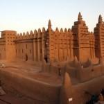 Большая мечеть Дженне (Мали, западная Африка)