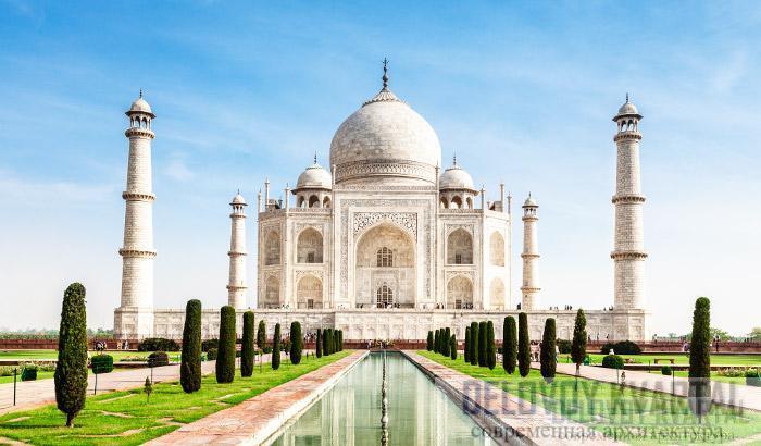 Тадж-Махал построен в память об умершей императрице Индии.