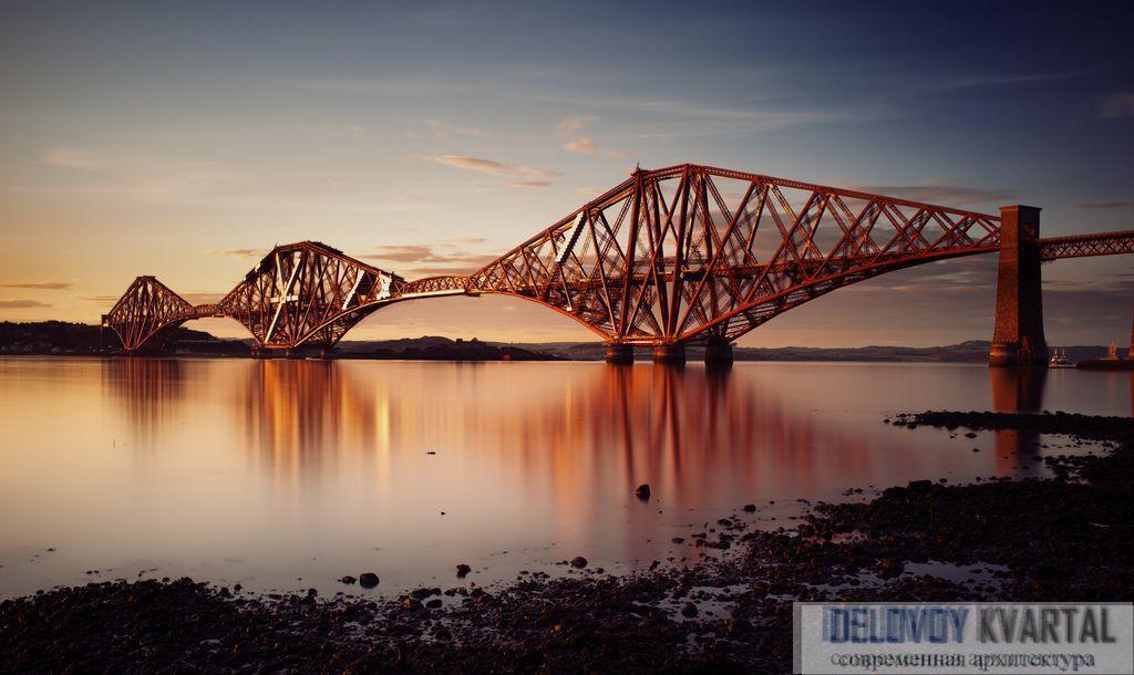 Мост Форт в Шотландии