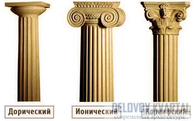 Греческие ордеры