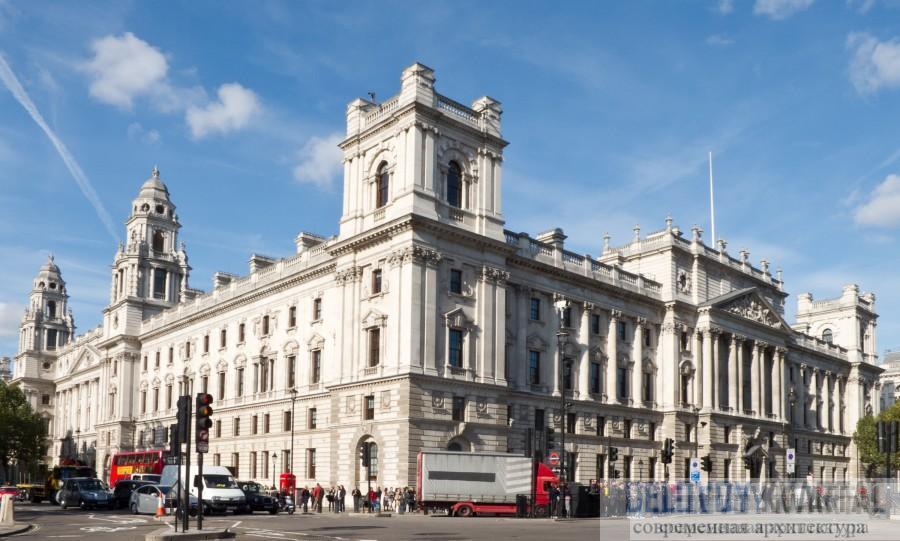 Казначейство. Лондон. Палладианство