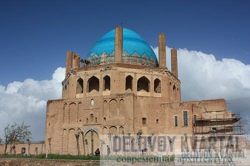 Мавзолей Олджейту. Султания