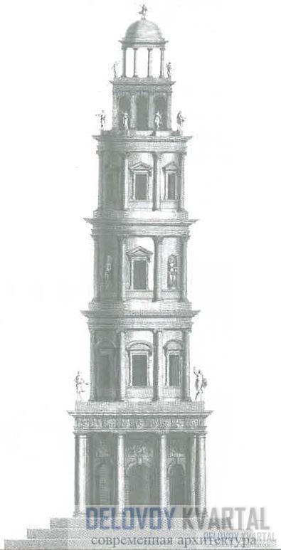 Башня с сужающимися ярусами